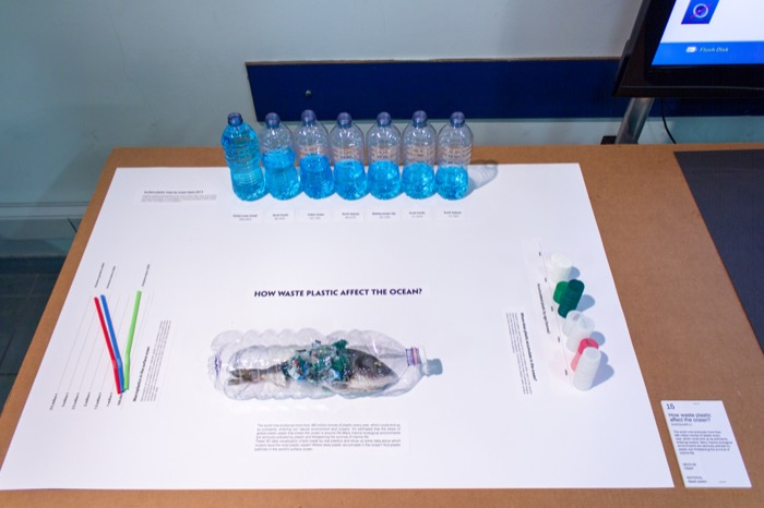 Complementary image of the project How waste plastic affect the ocean?