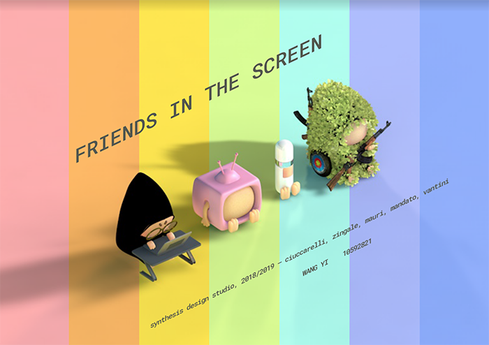 Featured image of the project Friends in Screen
